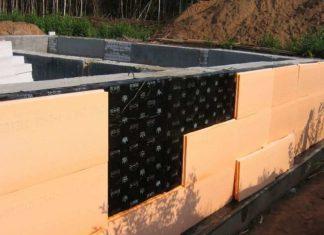 Утепление фундаментов домов пеноплексом