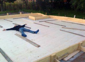 Особенности конструкции монолитной плиты фундамента