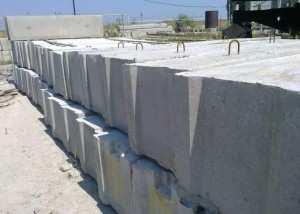 Как правильно подбирать бетонные блоки под фундаменты