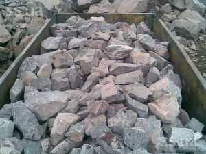 Бутовый гранитный камень
