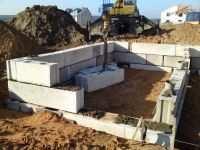 фундамент из блоков пошаговая инструкция