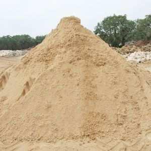Крупнозернистый речной песок для фундамента