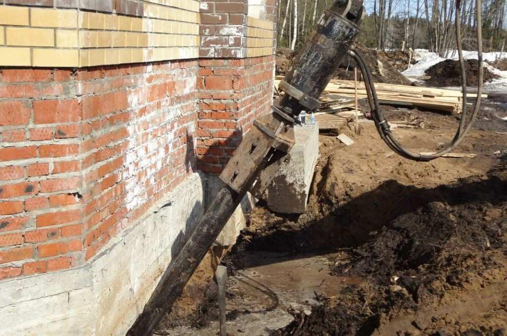 Ремонт столбчатого фундамента деревянного дома своими руками