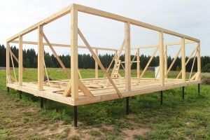 Свайно-винтовой фундамент для каркасного дома
