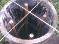 фундамент из труб сваи