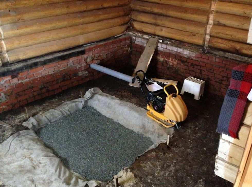 Фундамент под печь в бане своими руками под железную, под чугунную, как залить