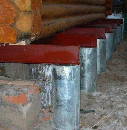 Как укрепить свайный фундамент?