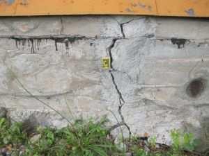 Вертикальные трещины