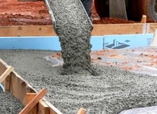 Сколько сохнет фундамент из бетона