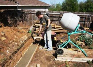 Заливка фундамента под дом своими руками: как правильно залить