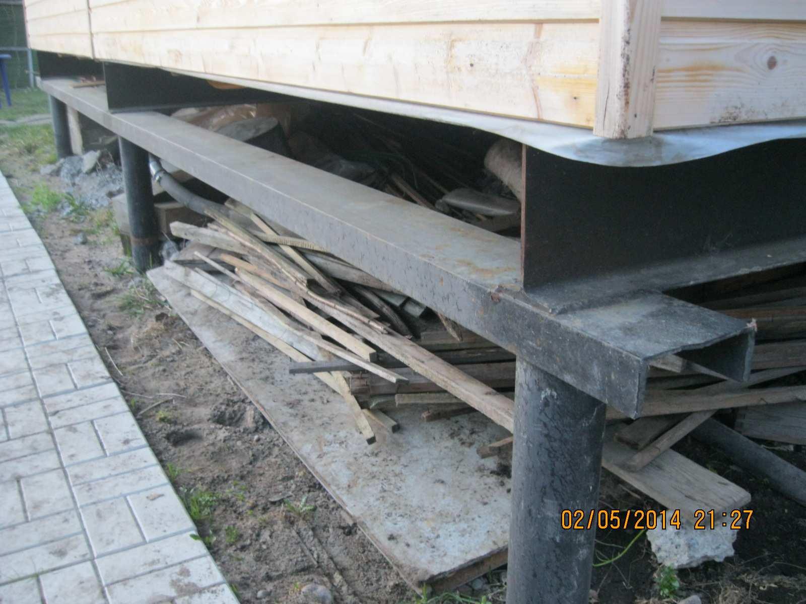 Ремонт фундамента винтовыми сваями замена перенос реконструкция демонтаж старого основания вашего дома а также отзывы
