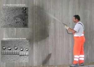 Поверхностно-объемном обработка бетона