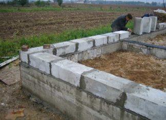 Глубина фундамента для дома из пеноблоков