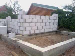 Какой фундамент для дома из газосиликатных блоков