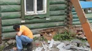 Определение степени повреждения деревянного дома