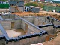 Сколько нужно фундамента на дом: расчет сметы коттеджа