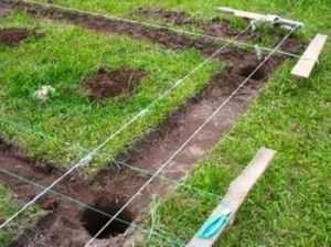 Проведение земляных работ для обустройства фундамента