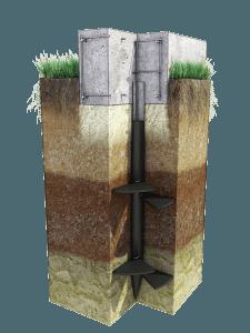 Ростверк для фундамента на винтовых сваях