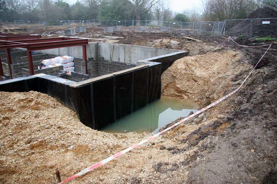 Фундамент при высоком уровне грунтовых вод: как делать