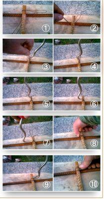 Как правильно вязать арматуру для опалубки
