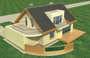 При расчете нагрузки на основание здания учитывается его конструкция
