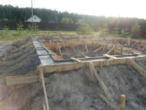 Ленточный фундамент на насыпном грунте