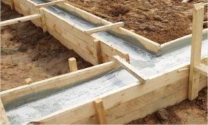 При расчете бетона учитывается поправочный коэффициент и тип грунта