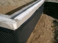 Мембрана для фундамента: гидроизоляционная профилированная