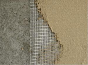 Способ нанесения штукатурной гидроизоляционной защиты фундамента
