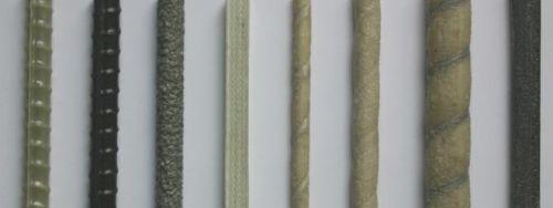 поверхность стеклопластиковой арматуры