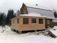 Как сделать фундамент для пристройки к дому: кирпичному, деревянному