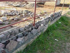 Фундамент из гранита