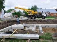 Сборный фундамент: бетонные элементы и их установка