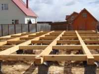 Столбчатый фундамент для дома из газобетона