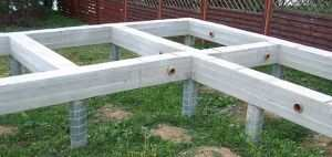 Свайно-ростверковый фундамент под дом