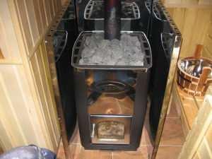 Железная печь для бани
