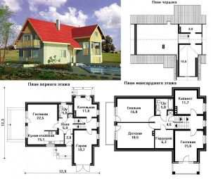 Проект дома в пригороде