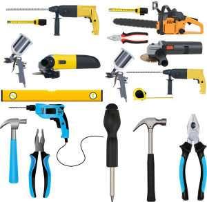 Необходимые инструменты для работы