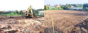 Подготовка участка и разметка под фундамент