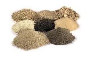 Примеси которые могут наблюдаться в песке