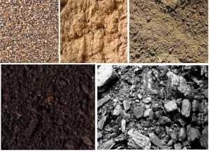 Основные виды грунтов