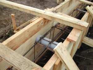 Устройство фундамента бревенчатого дома