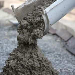 Применяемая бетонная смесь для частного строительства