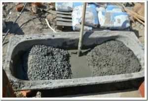 Самостоятельное изготовление бетонной смеси