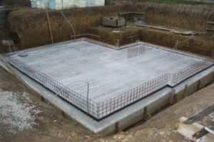 Обустройство плитного основания для дома из газобетона