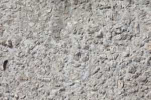 Вид застывшей бетонной смеси марки М200