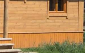 Обшивка древесиной