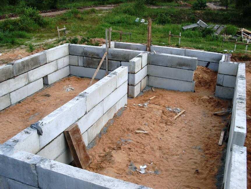 Дом из бетонных блоков видео