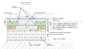 Схема расчета фундамента для кирпичного здания