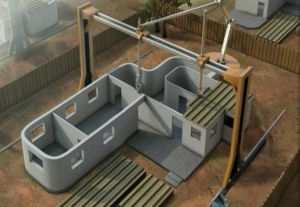 Наглядный пример осадки дома методом послойного суммирования под влиянием давления в фундаменте